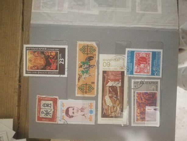 Марки почтовые разных стран