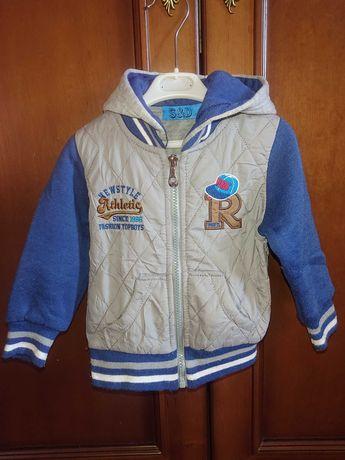 Детская весенняя куртка ветровка Carter's ,Palomino(для детей с 1года)