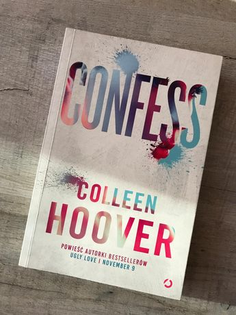 Książka bestseller Confess Colleen Hoover