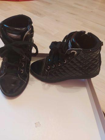 Sneakersy  Geox lakierowane,pikowane rozm 29