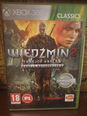 Wiedźmin 2 Zabójcy Królów Edycja Rozszerzona Xbox 360
