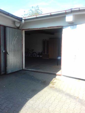 garaż     murowany  , duży magazyn  35 m2