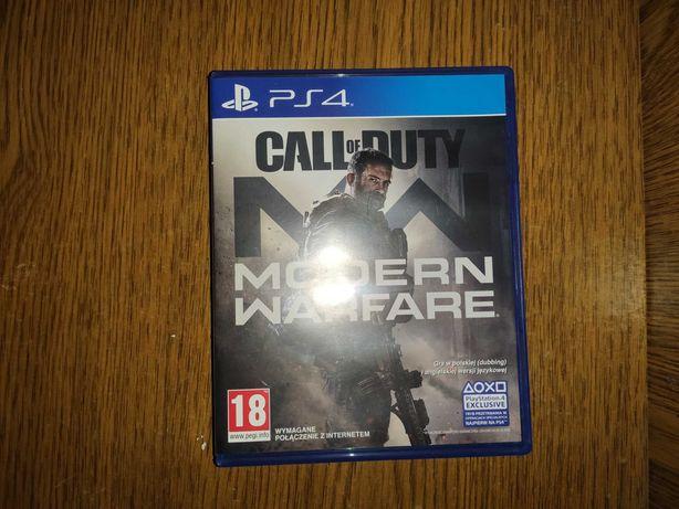 Call of Duty: Modern Warfare 2019.PS4 диск
