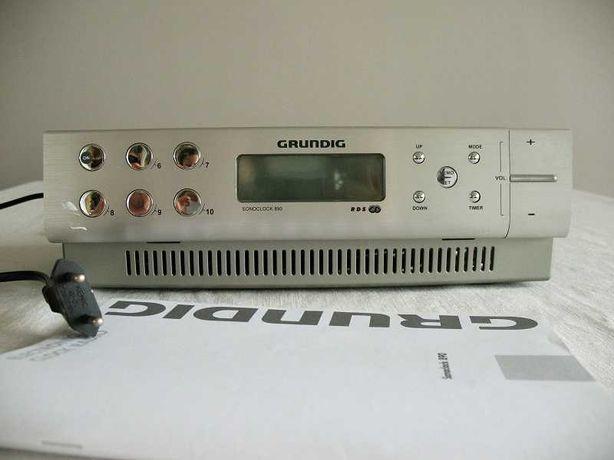 Radio kuchenne GRUNDIG Sonoclock 890, podwieszane lub stojące