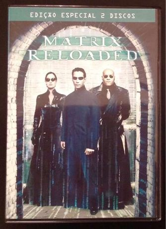 "DVD ""Matrix Reloaded"""