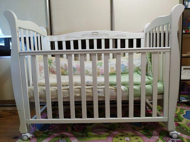Кроватка Верес белая