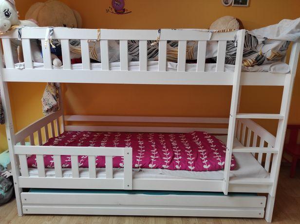 Łóżko piętrowe 90x200 3-osobowe