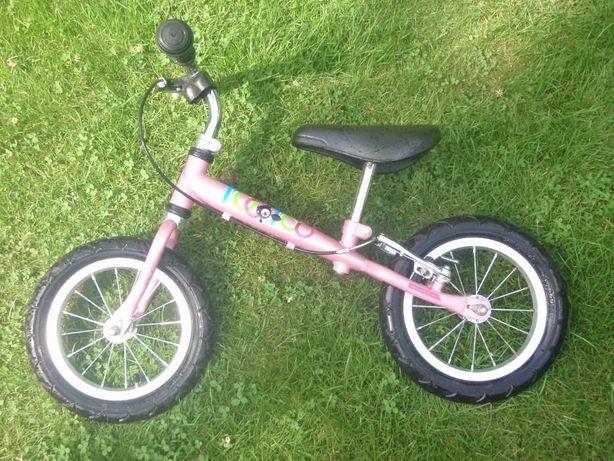 Rower biegowka dla dziewczynki