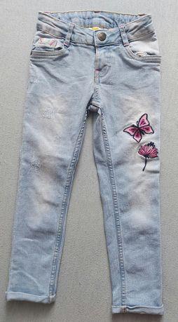 Spodnie dla dziewczynki rozmiar 104
