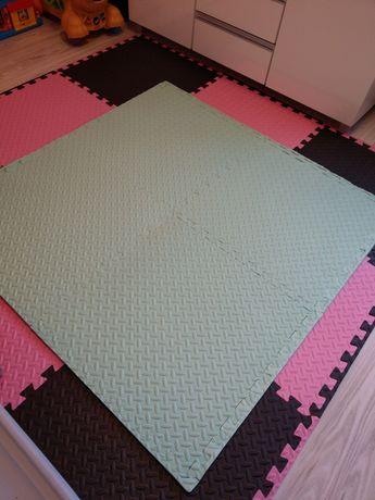 duże puzzle piankowe mata nowe 120x120