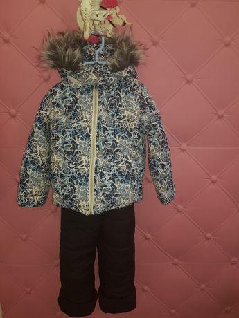 Продам детский зимний комбинезон куртка штаны