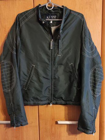 Wyprzedaż Armani jeans  bomberka kurtka wiatrówka oryginalna M