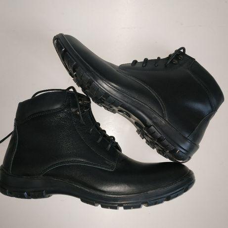 Новые Мужские ботинки кожаные деми, осень, евро зима новые 43