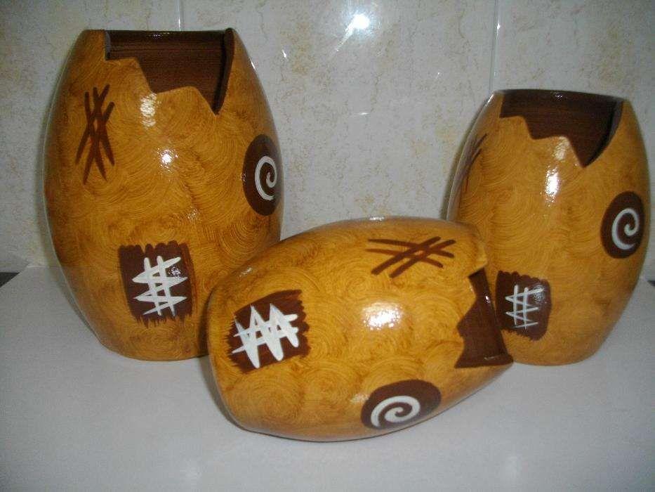3 vasos de decoração Cidade Da Maia - imagem 1