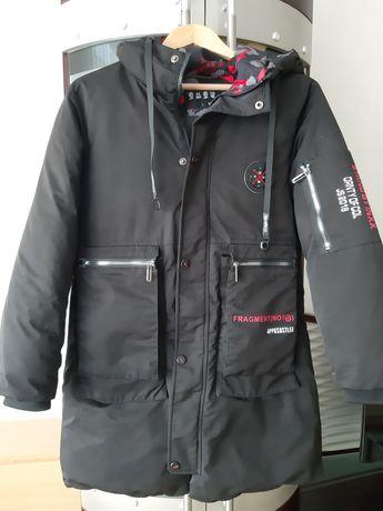 Пальто для мальчика-подростка рост 140-146
