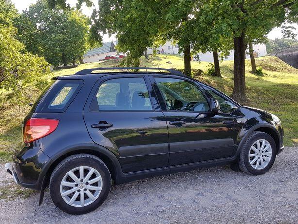 Suzuki SX4 2007R. 1.6 Benzyna 4x4 Klimatyzacja Bezwypadkowy Zadbany