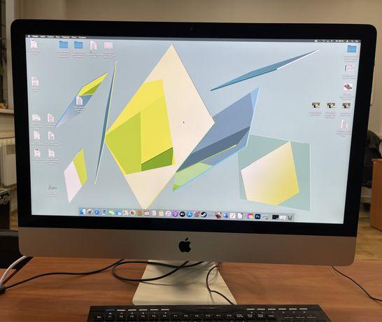 iMac 27 Late 2013,intel i5,GTX 2Гб,DDR 16Gb,ssd 256,1Тб,Apple