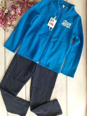 Флисовый спортивный костюм 8,10 лет