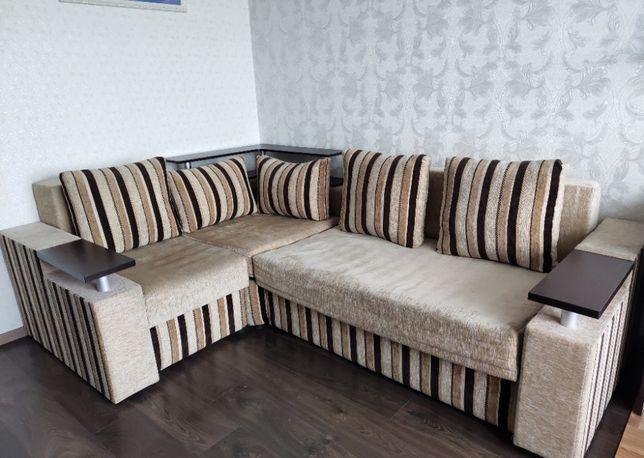 Угловой диван раскладной