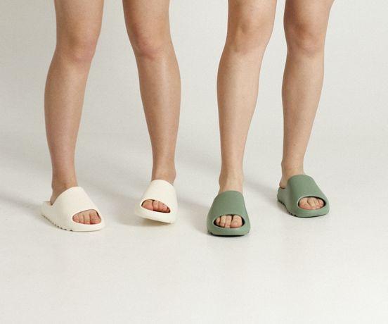 Тапки женские и мужские Yeezy slide Adidas! Для пляжа, дома, отдыха!