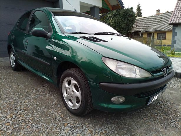 ŁADNY Peugeot 206 1.4b Klima elektryka Zadbany 2001r