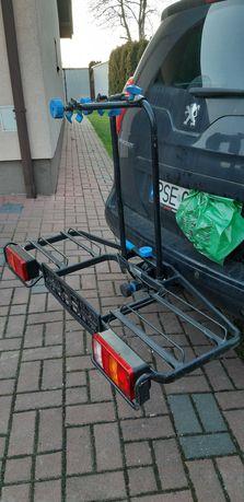 Bagażnik na 2 rowery na hak