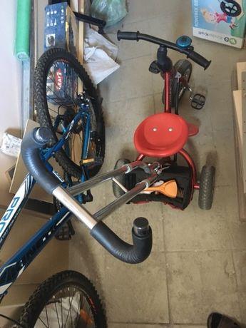 Детский трехколёсный велосипед Azimut trike. Надувные колёса