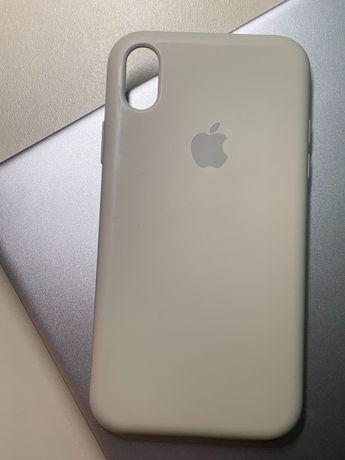 Силиконовый чехол на iPhone xr