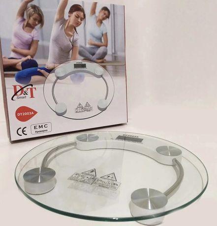 Весы напольные Domotec электронные стеклянные ваги підлогові до 180 кг