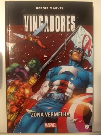 Vingadores Zona Vermelha - Herois Marvel Levoir