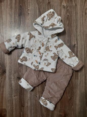 Демисезонный костюм на девочку 9-12м,  демисезонный костюм на мальчика