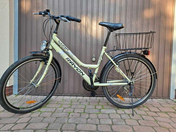 Sprzedam kremowy rower