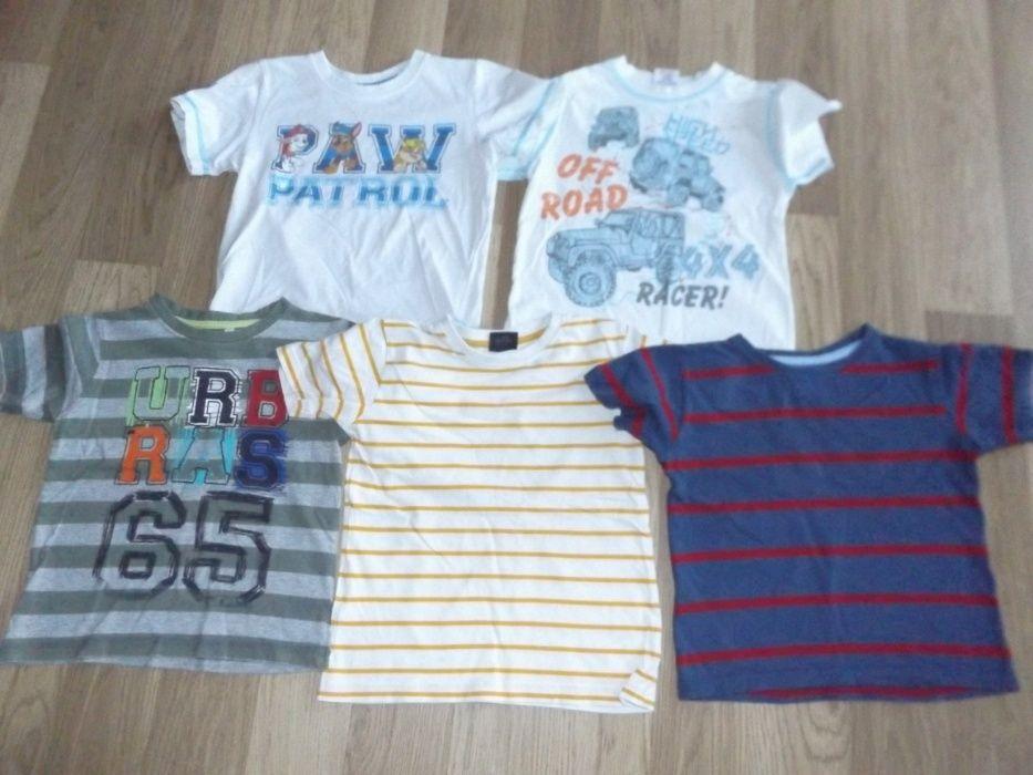 t-shirt koszulki z długim i krótkim rękawem 3-5zł/szt roz 104 Aleksandrów Kujawski - image 1