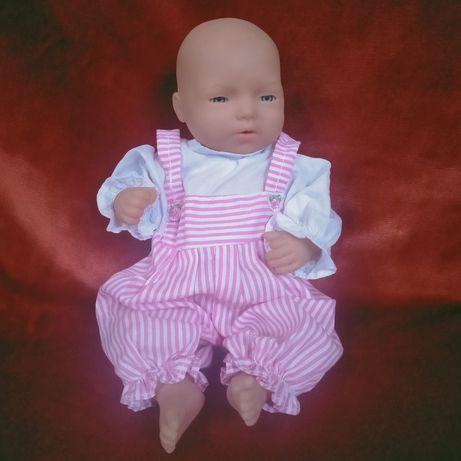 Кукла пупс девочка новорожденная Effe Italy Италия 27 см