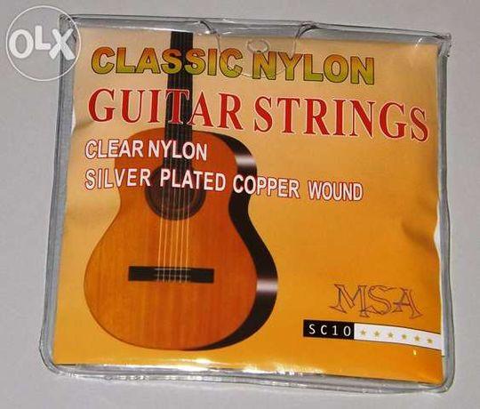 Jogo de cordas nylon - guitarra clássica
