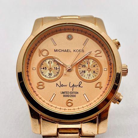 MICHAEL KORS New York Zegarek damski ZŁOTY kolor!
