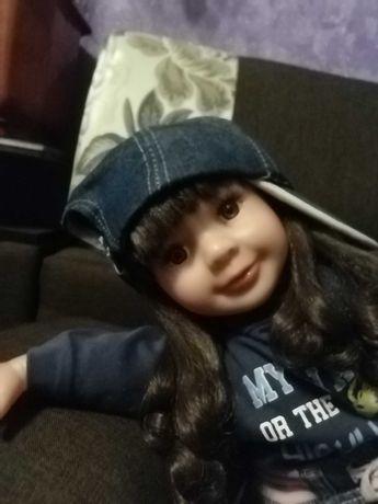 Кукла большая, 63 см, шарнирный каркас.