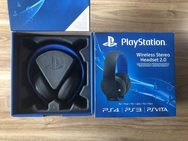 Playstation 4 PS4 Wireless Stereo Headset słuchawki gamingowe
