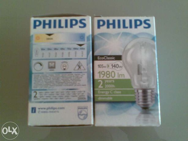 Lampada Philips 105W eco classic 1980lm