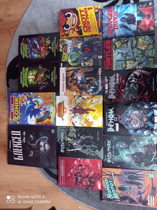 Коллекция комиксов Марвел, ДС, черепашки-ниндзя Лозовая - изображение 1