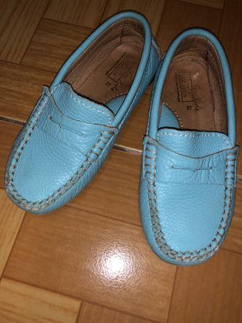 Туфли/мокасины для девочки кожа.