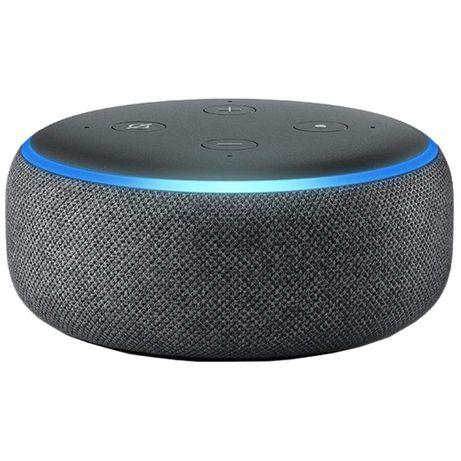 Coluna inteligente Amazon Echo Dot 3ª Geração SELADA