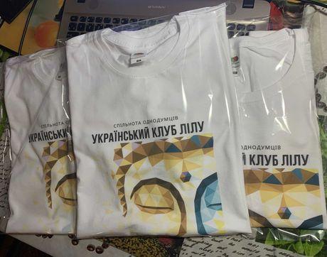Печать на футболках | Лого Бренд Фото