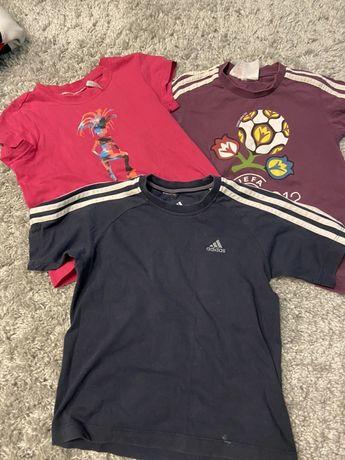 Лот детских футболок