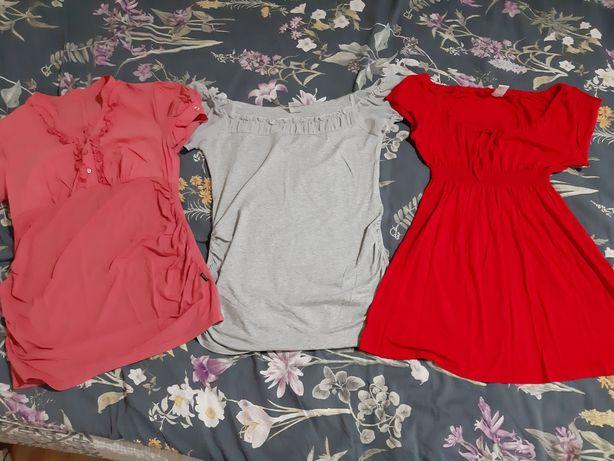 Bluzka ciążowa 9fashion Branco zestaw