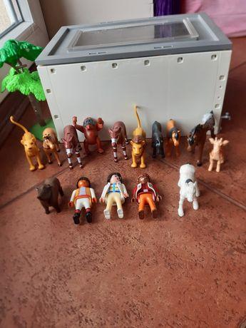 Zwierzęta , ludziki Playmobil