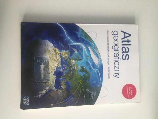 Atlas geograficzny dla liceum