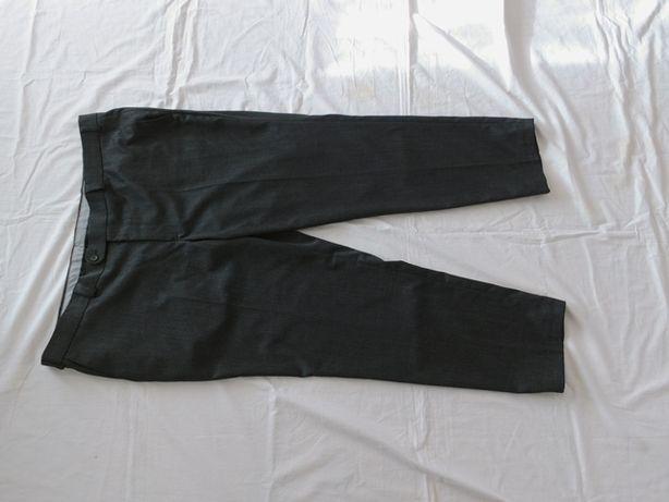 Spodnie MĘSKIE Wizytowe Garniturowe Canda Pas 120cm