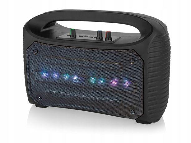 Głośnik Bluetooth RADIO USB KARAOKE 100W