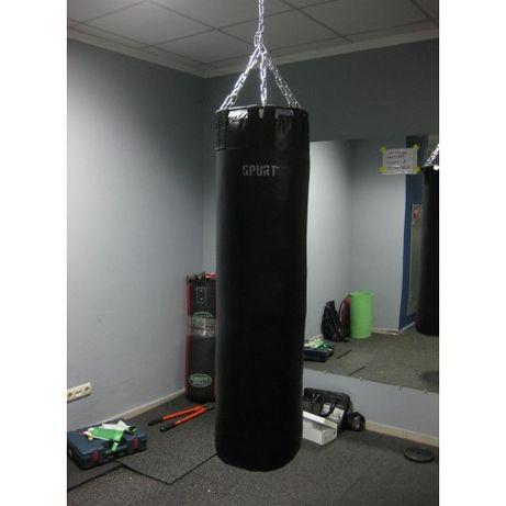 Боксерский мешок. /Ткань - ПВХ/д.40см./Черный